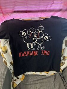 Size S Band Tee Alkaline Trio Punk Rock Emo Small