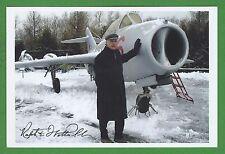 Ralph Wetterhahn Vietnam Fighter Jet Pilot Operation Bolo Signed Photo E16274