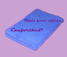 Tapis Confortbed Vetbed Eleveur bleu vif uni, épaisseur 32 mm, 50x75 cm