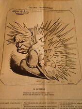 Caricature 1874 - Gallery Mixture M. Dufaure Pork Epic