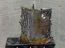 Dollhouse Miniatures Halloween OOAK Potion & Spell Display Book