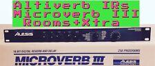 Alesis Microverb III * ROOMS *+FREE XTRA  ALTIVERB IRs (Midiverb,Quadraverb)