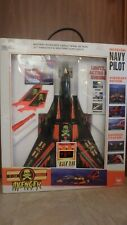 F-14 Tomcat Avenger Navy Pilot Plane/Set By New Bright