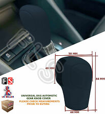 UNIVERSAL AUTOMATIC CAR DSG SHIFT GEAR KNOB COVER PROTECTOR BLACK–Audi 2