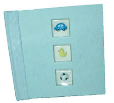 Baby Shower Boy Blue New Born 100 Pic Photo Album Car Toy Cover Gift Idea