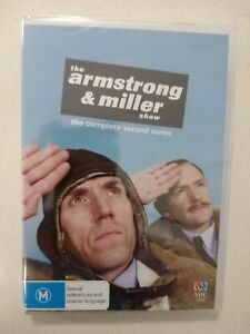 The Armstrong & Miller Show Complete Second Series New And Sealed Dvd