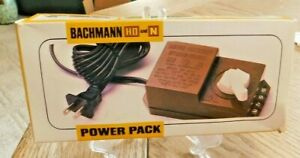 Bachmann HO & N Electric Train Power Pack 6607 Excellent, with Sales Box.