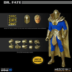Mezco ONE 2 COLLECTIVE Dr. Fate 6 inch DC Universe action figure SHIPPING SOON!