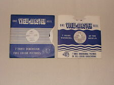 2 SAWYER'S VIEW-MASTER REELS – OF FRANCE