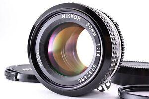 Mint Nikon Nikkor 50mm f/1.4 Ai Lens Prime Manual SLR MF Standard cap From JAPAN