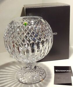 NEW WATERFORD CRYSTAL TRIUMPH FOOTED ROSE BOWL   ~ JORGE PEREZ