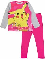 Pokemon Besties Pikachu Eevee Girls Short OR Long Leg Pyjama Sets