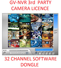 16 o 32Ch GV-a NVR software Dongle licenza 3rd PARTY telecamera IP funziona GeoVision.