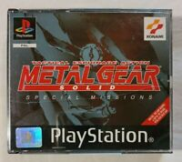Metal Gear Solid: Special Missions PS1 PlayStation One 1998 Konami w/ Manual