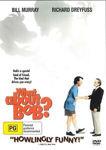 What About Bob? DVD Bill Murray Richard Dreyfus New & Sealed Australia