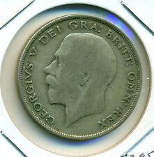 1920 UK/GB  HALF CROWN, GREAT PRICE!