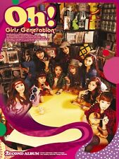 SNSD Girls' Generation 2nd Vol. 2 - Oh! CD + FREE GIFT
