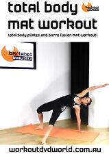 Barre Toning EXERCISE DVD - Barlates Body Blitz TOTAL BODY MAT WORKOUT!