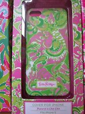 LILLY PULITZER Phone Case Chin Chin iPhone 5 5s Cover NEW