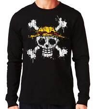 Camiseta Manga Larga One Piece Mancha Pintura long sleeve shirt
