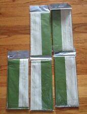 5 Nwt Packages Pier 1 Green And Beige Tissue Paper
