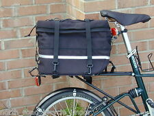Alex Moulton SewWhat Rear Trunk Bag Black -fits Moulton APB-AM-Jubilee-NS-Pylon