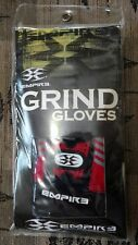 New Empire Red & Black Grind Paintball Medium Gloves