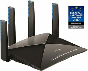 NETGEAR R9000-100JPS WiFi Wireless LAN Router AD7200  Tri-Band NighthawkX10