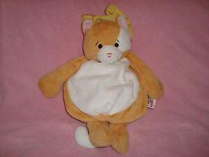 "Ganz Hug-A-Packs Cat 3 way backpack / Purse / Fanny Pack Plush 15"""