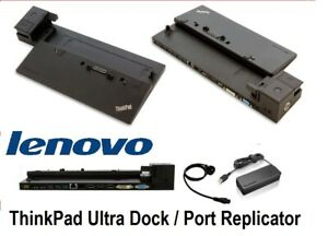Lenovo Thinkpad Ultra Dock with 90W Charger 40A2 00HM917 00HM917 Port Replicator