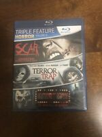 Triple Feature Horror Vol. 2 (NEW Bluray) Scar + Terror Trap + Midnight Movie