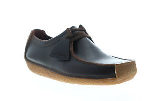 Clarks Natalie 26134201 Mens Brown Leather Loafers & Slip Ons Casual Shoes
