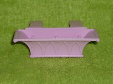 Loving Family Dollhouse Purple Flower Box Planter