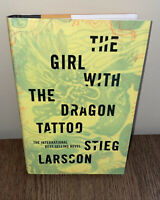 The Girl with the Dragon Tattoo, Stieg Larsson US FIRST EDITION / FIRST PRINTING