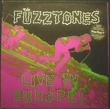 """LP THE FUZZTONES - live in europe, ltd ed. incl. 7""""-Flexi, , nm"""