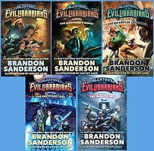 Alcatraz VS the Evil Librarians Series Collection Set Books 1-5 Hardcover New!