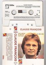 CLAUDE FRANCOIS cassette K7 tape JE VAIS A RIO fleche boitier violet 70.179