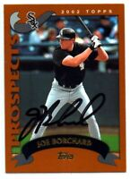 2002 Topps Joe Borchard #310 Signed IP Auto
