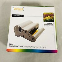 VuPoint Solutions ACS-IP-P10-VP Color Cartridge for Photo Cube NEW SEALED
