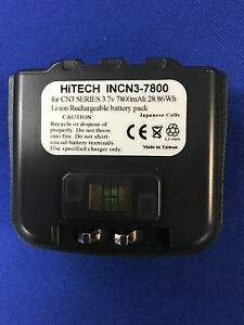 Hitech INTERMEC CN3(Extend size) battery*Japan Li7.8Ah*Not allow fit in Vehicle*