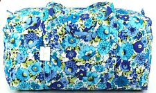 Vera Bradley Small Duffel Blueberry Blooms Luggage Bag Carryon Handbag New NWT