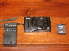 Nikon Coolpix S8100 12.1 MP CMOS Digital Camera 10x Optical Zoom 3.0-Inch LCD