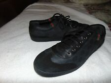 Gucci Men's Shoes Bacelona GG Logo Black Low  Sneakers G 12.5 US 13.5
