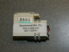 Drummond Replacement Motor And Pump Item 4 000 040 For Drummond Portable Amp Xp
