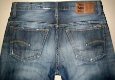 G-STAR 3301 STRAIGHT FIT JEANS, SIZE W34 L36