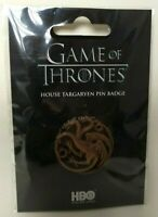 Game of Thrones pins 3,5 cm Houses : Targaryen HBO 2019 pin's collector