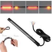 32 LED Motorcycle Bike Tail Light Strip Rear Brake Stop Turn Signal Universal