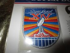 LA Raiders Pittsburgh Steelers Super Bowl XIV 1980 NFL Jersey Large Patch NEW