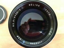 Helios 135mm m42 Canon EF de ajuste