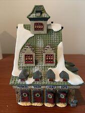 Dept 56 North Pole Series #5601-4 Reindeer Barn Heritage Village